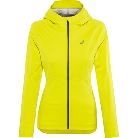 asics Accelerate Jacket Damen lemon spark
